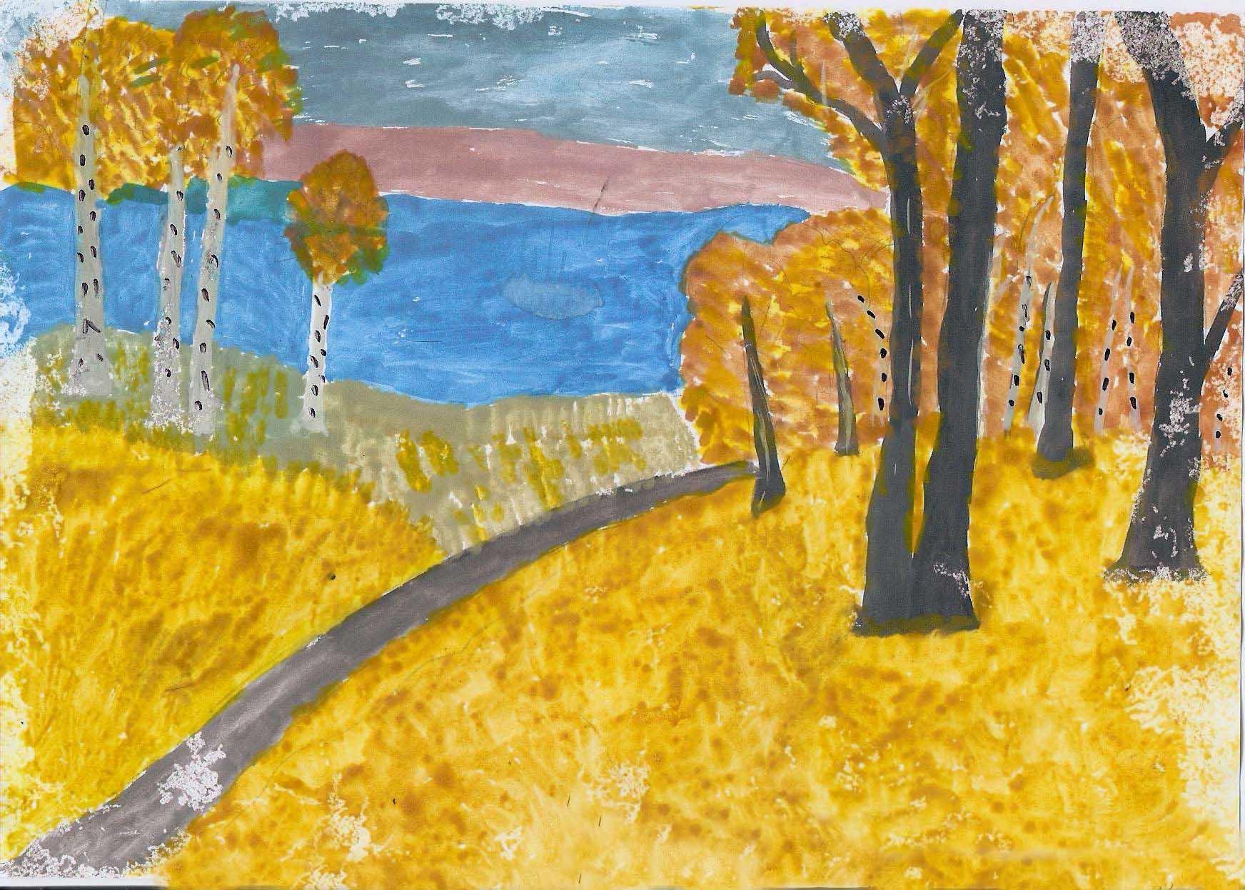 Рисунки по выстовке по теме осень 8